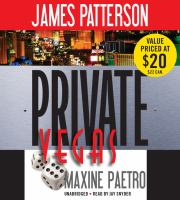Cover image for Private Vegas [sound recording] / James Patterson, [Maxine Paetro].