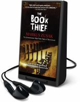 Cover image for The book thief [sound recording] / Markus Zusak.