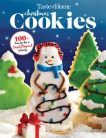 Cover image for Christmas cookies.
