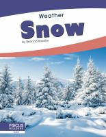 Cover image for Snow / by Brienna Rossiter.