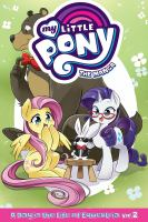 Cover image for My little pony, the manga. A day in the life of Equestria. Vol. 2 / story by David Lumsdon ; art by Shiei ; toning by Ludwig Sacramento ; lettering by Nicky Lim.