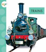 Cover image for Trains / by Wendy Strobel Dieker.