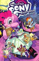 Cover image for My little pony, Friendship is magic. Volume 18 / written by Sam Maggs, Thom Zahler, Kate Sherron ; art by Toni Kuusisto, Kate Sherron, Nicoletta Baldari ; colors by Heather Breckel ; letters Neil Uyetake.