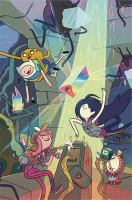 Cover image for Adventure time. Volume 17 / created by Pendleton Ward ; written by Conor McCreery, Christopher Hastings, Mariko Tamaki, & Ryan North ; illustrated by Jorge Monlongo, Zachary Sterling, Ian McGinty, & Shelly Paroline & Braden Lamb.
