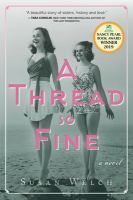 Cover image for A thread so fine / by Susan Welch.