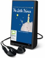 Cover image for The little prince [sound recording] / Antoine de Saint-Exupéry ; [English translation by translated by Richard Howard].