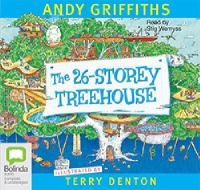 Cover image for The 26-storey treehouse [sound recording] / Andy Griffiths ; read by Stig Wemyss.