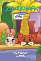 Cover image for Disney Zootopia / as told by Disney Emoji.