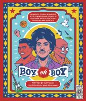 Cover image for Boy oh boy / written by Cliff Leek; illustrated by Bene Rohlmann.