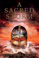 Cover image for A sacred storm / Theodore Brun.