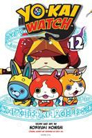 Cover image for Yo-kai watch. 12, Bashful yo-kai Mr. Blue-Shy / story and art by Noriyuki Konishi ; original concept and supervised by Level-5 Inc. ; translation/Tetsuichiro Miyaki ; English adaptation/Aubrey Sitterson ; lettering, John Hunt.