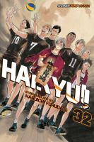 Cover image for Haikyu!! Volume 32, Pitons / story and art by Haruichi Furudate ; translation, Adrienne Beck ; touch-up art & lettering, Erika Terriquez.