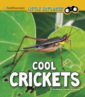 Cover image for Cool crickets / by Megan Cooley Peterson.