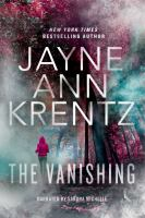 Cover image for The vanishing [sound recording] / Jayne Ann Krentz.