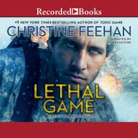 Cover image for Lethal game [sound recording] / Christine Feehan.