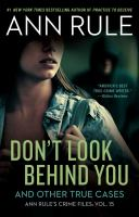 Cover image for Don't look behind you / Ann Rule.
