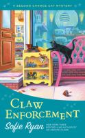 Cover image for Claw enforcement / Sofie Ryan.