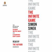 Cover image for The infinite game [sound recording] / Simon Sinek.