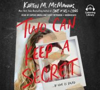 Cover image for Two can keep a secret [sound recording] / Karen M. McManus.