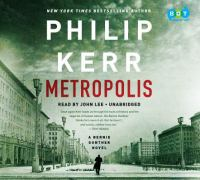 Cover image for Metropolis [sound recording] / Philip Kerr.