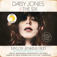 Cover image for Daisy Jones & The Six [sound recording] / Taylor Jenkins Reid.