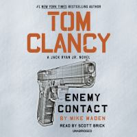 Cover image for Tom Clancy Enemy contact [sound recording] / by Mike Maden.