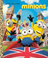 Cover image for Minions little golden book