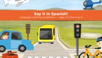 Cover image for Say it in Spanish! Language learning SuperPack [tablet].