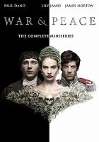 Cover image for War & peace : the complete miniseries / director, Tom Harper.