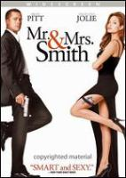Cover image for Mr. & Mrs. Smith / New Regency Pictures ; Summit Entertainment ; Weed Road Pictures ; Regency Enterprises ; produced by Lucas Foster, Akiva Goldsman, Eric McLeod, Arnon Michan, Patrick Wachsberger ; written by Simon Kimberg ; directed by Doug Liman.