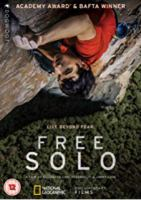 Cover image for Free solo / National Geographic Documentary Films presents ; a Little Monster Films production ; an Itinerant Media production ; a Parkes+MacDonald/Image Nation production ; a film by Elizabeth Chai Vasarhelyi & Jimmy Chin ; directed and produced by Elizabeth Chai Vasarhelyi, Jimmy Chin ; produced by Evan Hayes ; produced by Shannon Dill