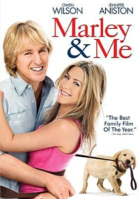 Cover image for Marley & me / Fox 2000 Pictures and Regency Enterprises present a Gil Netter/Sunswept Entertainment production ; a David Frankel film ; produced by Karen Rosenfelt, Gil Netter ; screenplay by Scott Frank and Don Roos ; directed by David Frankel ; executive producers, Arnon Milchan, Joe Caracciolo, Jr. ; made in association with Dune Entertainment III LLC.