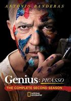 Cover image for Genius. The complete second season, Picasso / National Geographic presents an Imagine Television and Fox 21 Television Studios production ; created by Ken Biller, Noah Pink ; writer/director, Kenneth Biller and various others.