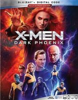 Cover image for X-Men. Dark Phoenix [BLU-RAY] / Twentieth Century Fox presents ; in association with Marvel Entertainment and TSG Entertainment ; a Kinberg Genre/Hutch Parker production ; produced by Simon Kinberg, Hutch Parker, Lauren Shuler Donner, Todd Hallowell ; writen and directed by Simon Kinberg.