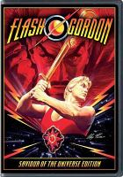 Cover image for Flash Gordon / Dino De Laurentiis presents ; screenplay by Lorenzo Semple, Jr. ; adaptation by Michael Allin ; producer, Dino De Laurentiis ; director, Mike Hodges.