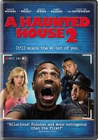 Cover image for A haunted house 2 / Open Road Films and IM Global present in association with Endgame Releasing and Automatik ; a Baby Way production ; co-producer, Michael Tiddes ; produced by Marlon Wayans, Rick Alvarez ; written by Marlon Wayans & Rick Alvarez ; directed by Michael Tiddes.