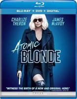 Cover image for Atomic Blonde [BLU-RAY] / Focus Features presents ; in association with Sierra Pictures ; a Denver & Delilah Productions, Chickie the Cop, TGIM Films and 87/Eleven production ; a film by David Leitch ; produced by Eric Gitter, Peter Schwerin, Kelly McCormick, Charlize Theron, A. J. Dix, Beth Kono ; screenplay by Kurt Johnstad ; directed by David Leitch.