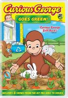 Cover image for Curious George goes green.