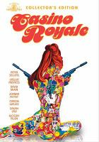 Cover image for Casino royale / Famous Artist Productions ; produced by Charles K. Feldman and Jerry Bresler ; directed by John Huston ... [et al.] ; screenplay by Wolf Mankowitz, John Law, Michael Sayers.