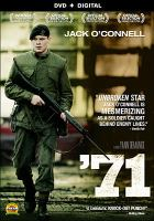 Cover image for '71 / Film4, BFI and Creative Scotland present a Crab Apple FIlms and Warp Films production ; director, Yann Demange ; writer, Gregory Burke ; producers, Angus Lamont, Robin Gutch.
