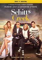 Cover image for Schitt$ Creek. Seasons one & two / Not A Real Company in association with the Canadian Broadcasting Corporation ; produced by Colin Brunton ; written by Daniel Levy, Kevin White, Michael Short, Chris Pozzebon, Amanda Walsh, Michael Grassi ; directed by Jerry Ciccoritti, Paul Fox.