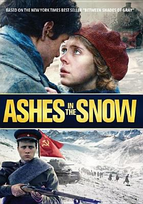 Cover image for Ashes in the snow / Vertical Entertainment presents ; a Sorrento Productions and Tauras Films production ; in association with Unanimous Entertainment/Super Crispy Entertainment/Twilight Merengue Studios ; produced by Marius Markevicius, Zilvinas Naujokas, Chris Coen, Prithvi Chavan ; written by Ruta Sepetys ; screenplay by Ben York Jones ; directed by Marius A. Markevicius.