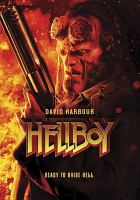 Cover image for Hellboy / Lionsgate and Millennium Media present ; a Lawrence Gordon/Lloyd Levin production ; in association with Dark Horse Entertainment ; a Nu Boyana production ; in association with Campbell Grobman Films ; directed by Neil Marshall ; screenplay by Andrew Cosby ; produced by Lawrence Gordon, Lloyd Levin, Mike Richardson, Philip Westgren, Carl Hampe, Matt O'Toole, Les Weldon, Yariv Lerner.