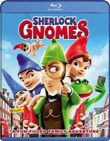 Cover image for Sherlock Gnomes [BLU-RAY] / Paramount Pictures and Metro-Goldwyn-Mayer Pictures present ; a Rocket Pictures production ; produced by Steve Hamilton Shaw, David Furnish, Carolyn Soper ; story by Andy Riley & Kevin Cecil and Emily Cook & Kathy Greenberg ; screenplay by Ben Zazove ; directed by John Stevenson.