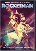 Cover image for Rocketman / Paramount Pictures presents ; in association with New Republic Pictures ; a Marv Films/Rocket Pictures production ; produced by Matthew Vaughn, David Furnish, Adam Bohling, David Reid ; written by Lee Hall ; directed by Dexter Fletcher.
