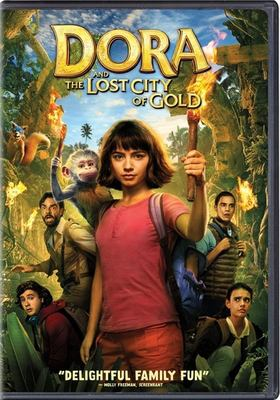 Imagen de portada para Dora and the lost city of gold / Paramount Pictures, Paramount Players and Nickelodeon Movies present in association with Walden Media and MRC ; a Burr! Productions production ; produced by Kristin Burr ; story by Tom Wheeler and Nicholas Stoller ; screenplay by Nicholas Stoller and Matthew Robinson ; directed by James Bobin.