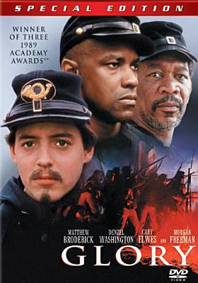 Cover image for Glory / directed by Edward Zwick ; screenplay by Kevin Jarre ; produced by Freddie Fields.
