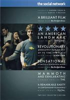Cover image for The social network / Columbia Pictures presents in association with Relativity Media, a Scott Rudin/Michael De Luca/Trigger Street production ; a David Fincher film ; screenplay by Aaron Sorkin ; produced by Scott Rudin ... [et al.] ; directed by David Fincher.
