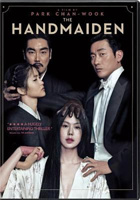 Cover image for The handmaiden = Agassi / Amazon Studios presents in association with CJ Entertainment a Moho Film and Yong Film production ; screenplay by Chung Seo-Kyung, Park Chan-Wook; produced by Park Chan-Wook, Syd Lim ; director, Park Chan-Wook.