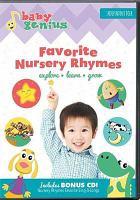 Cover image for Baby genius. Favorite nursery rhymes.